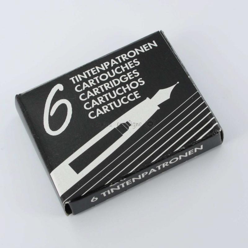 Cartouches Noires standards - Boite de 6