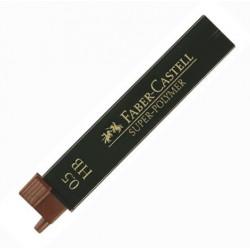 Lot de 5 étuis de 12 Mines 0,5 mm HB Faber-Castell®