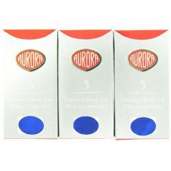 Pack de 5 boîtes de cartouches d'encre Aurora® Bleues