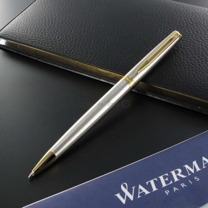 Stylo Bille Hémisphère Acier Satiné GT de WATERMAN