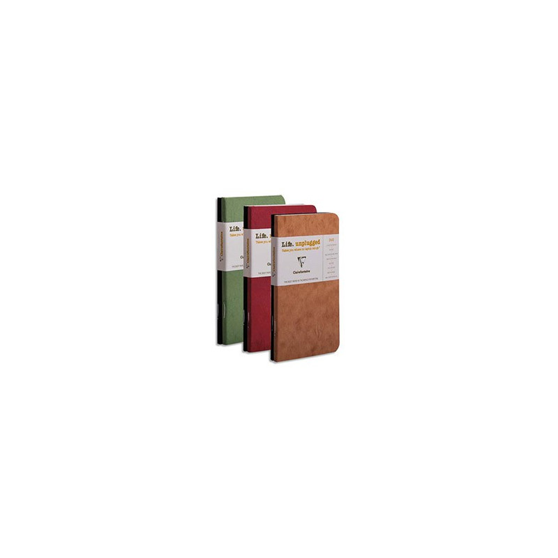 Duo de 2 Carnets Age Bag Clairefontaine