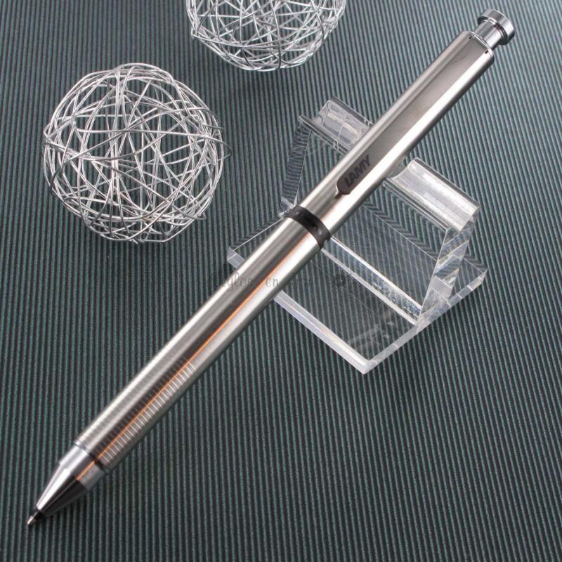 """Stylo LAMY """"st Tri Pen"""" Multi-Fonctions (Bille noire,mine 0,5 et souligneur)"""