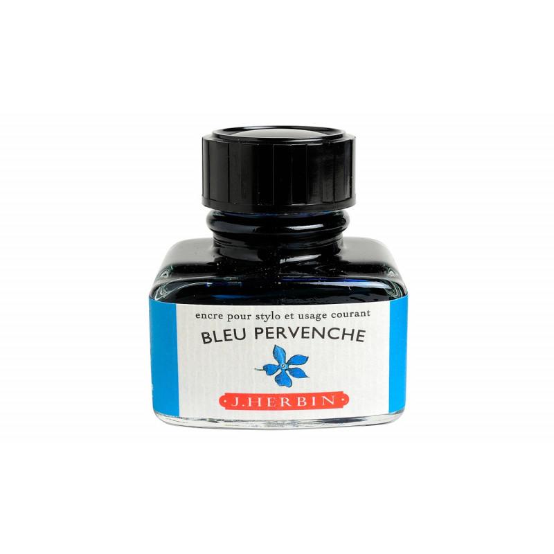 Flacon d'encre J. Herbin® Bleu Pervenche 30 ml