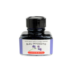 Flacon d'encre Bleue Myosotis 30 ml J. Herbin®