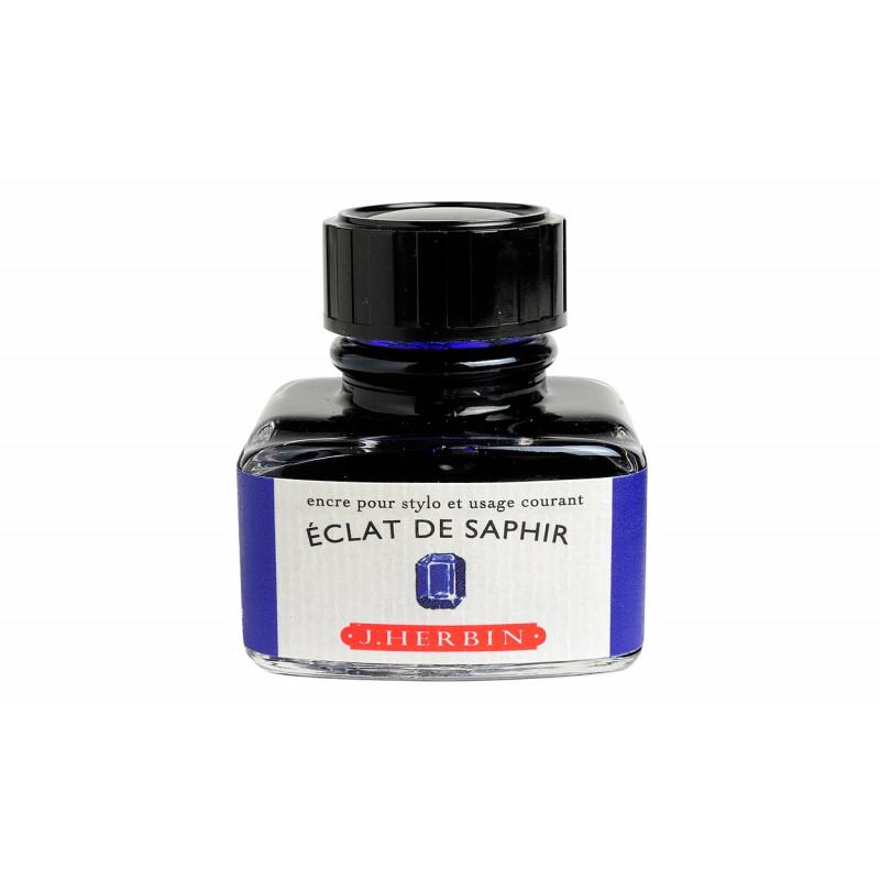 Flacon d'encre J. Herbin® Eclat de Saphir 30 ml