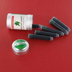 Cartouches Lierre Sauvage boite de 6 Herbin®