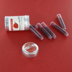Cartouches Rouge Caroubier boite de 6 Herbin®