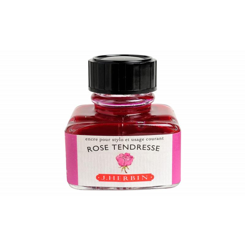 Flacon d'encre J. Herbin® Rose Tendresse 30 ml