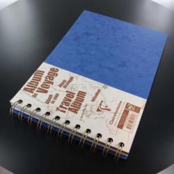Carnet De Voyage Clairefontaine® Age Bag Bleu Océan