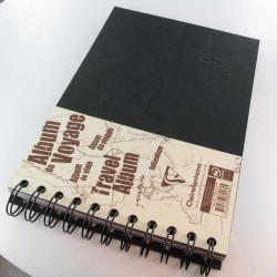 Carnet De Voyage Clairefontaine® Age Bag Noir