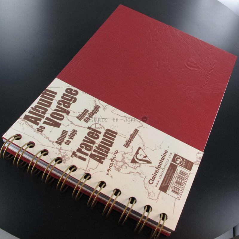 Carnet De Voyage Clairefontaine® Age Bag Rouge Opéra