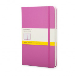 Carnet Moleskine® Rose Pocket Quadrillé