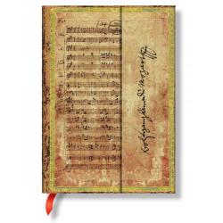 "Carnet Paperblanks® Mozart ""La Chasse"" Midi Ligné"