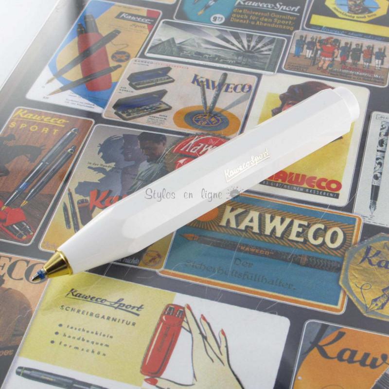 Stylo Bille Kaweco® Classic Sport Blanc