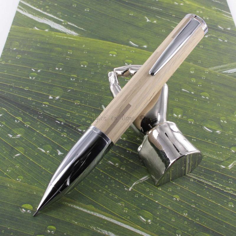 "Portemine 0,9 mm Oberthur® ""Kiwi"" Bois Blanchi"
