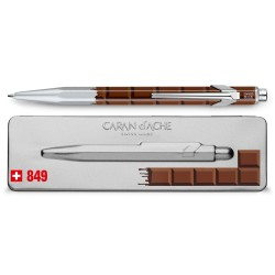 "Stylo Bille Caran d'Ache® 849 ""Chocolat"""