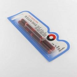 Cartouches  Blister de 5 recharges Rouges Sheaffer®