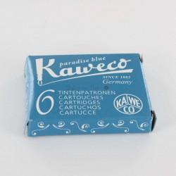 Cartouches KAWECO® Midnight Blue - Boite de 6