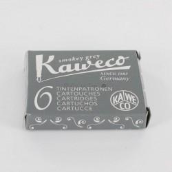 Cartouches KAWECO® Smokey Grey - Boite de 6