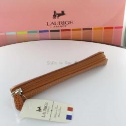 Etui-Trousse Cuir Laurige® Gold