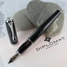 Stylo Plume Diplomat® Excellence A Laqué Noir