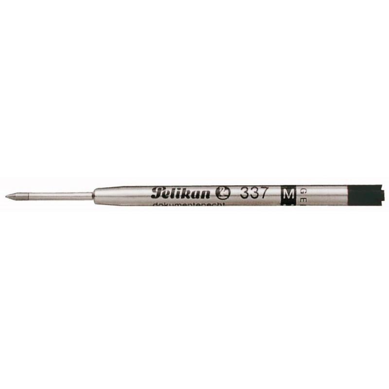"""Recharge BILLE NOIRE (épaisseur 1 mm : moyenne) PELIKAN """"337 M"""""""