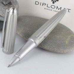 Stylo Roller Diplomat® AERO Argent