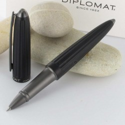 Stylo Roller Diplomat® AERO Noir