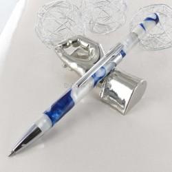 Stylo Bille Recife® Pearl Organizer Bleu Blanc