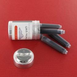 Cartouches Gris Nuage boite de 6 Herbin®
