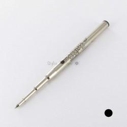 Lot de 2 Recharges Billes Noires Moyennes pour stylos MB Monteverde® générique