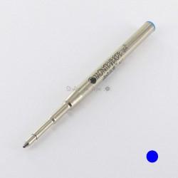 Pack de 2 Recharges BILLE BLEUE MOYENNE 0,7 mm (recharge générique/compatible) pour stylos MB.