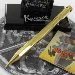 Portemine 0,7 mm Kaweco® Spécial Laiton Design Octogonal