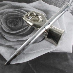 "Stylo Bille Sheaffer® ""Intensity"" Chrome Pointe Diamant"