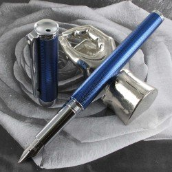"Stylo Plume Moyenne Sheaffer® ""Intensity"" Bleu Pointe Diamant"