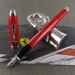 Stylo Plume Moyenne Cross® Ferrari® Townsend Rouge Brillant