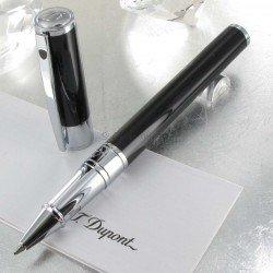 Stylo Roller ST Dupont® D-Initial Noir Brillant