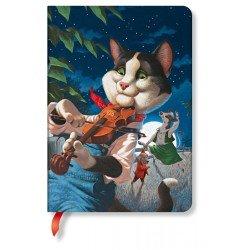 Carnet Paperblanks® Les Fêtards Le Chat et le Violon Midi Ligné