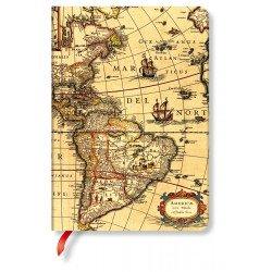 Carnet Paperblanks® Hémisphère Ouest Midi Ligné