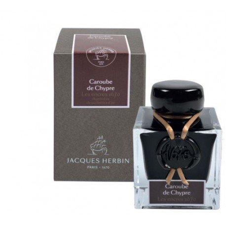 Flacon d'encre 1670 J. Herbin® Caroube de Chypre 50 ml