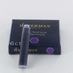 Cartouches Violettes Courtes boite de 6 Waterman®