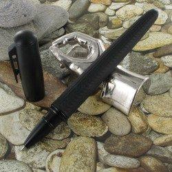 Stylo Roller Hugo Boss® Pure Tire® Noir