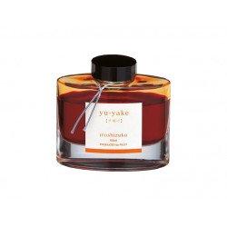 Flacon d'encre Rouge Orangé Yu-Yake 50 ml Iroshizuku Pilot®
