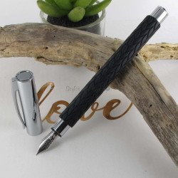 """Stylo Plume Fine Faber Castell® """"Ambition"""" Feuille"""