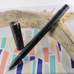 """Stylo Roller Faber Castell® """"NEO"""" noir mat"""