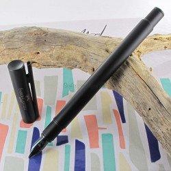"""Stylo Plume Fine Faber Castell® """"NEO"""" noir mat"""