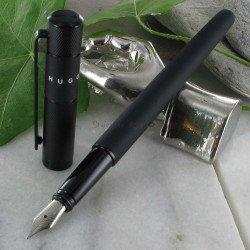 Stylo Plume Hugo® Ribbon® Noir Mat