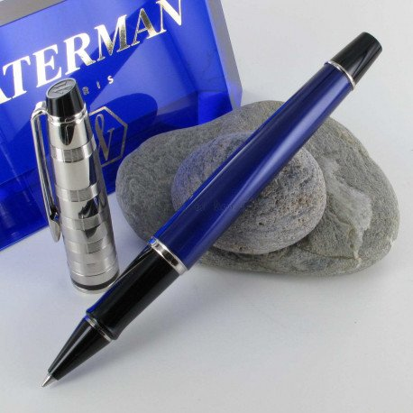 Stylo Roller WATERMAN® Expert Deluxe Blue Obsession