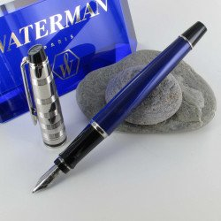 Stylo Plume WATERMAN® Expert Deluxe Blue Obsession