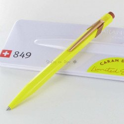 "Stylo Bille Caran d'Ache® 849 ""Claim Your Style"" Canari"